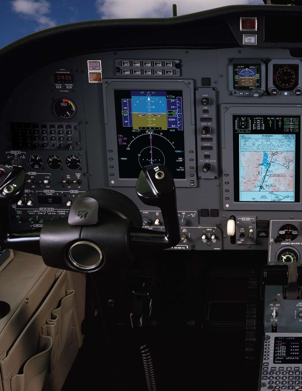 Rockwell Collins Pro Line avionics suite for the Cessna CJ1/CJ2